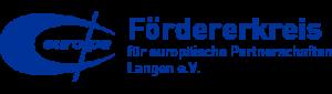 Fördererkreis für europäische Partnerschaften Langen e.V.